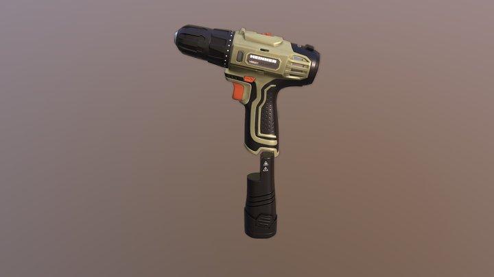 HandDrill 3D Model