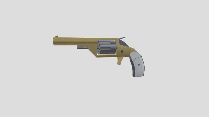 Revolver Museum Piece Collins Barracks 3D Model