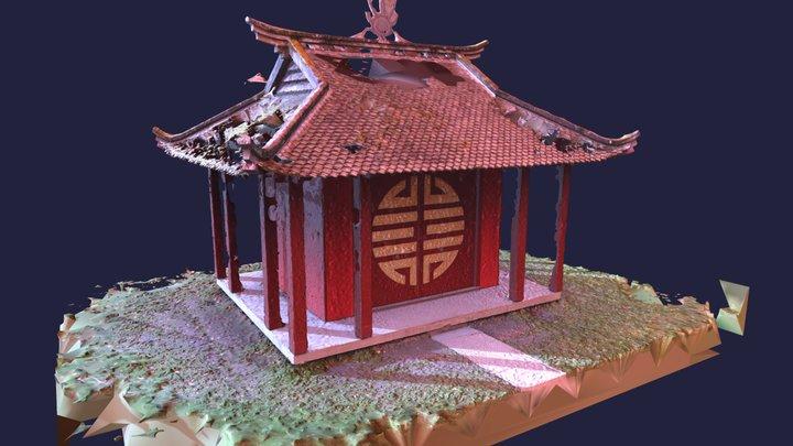 Monument à la mémoire des Vietnamiens morts 3D Model