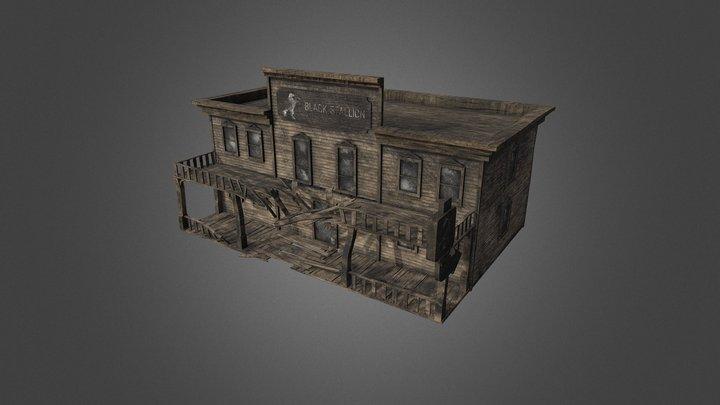 Abandoned saloon 3D Model