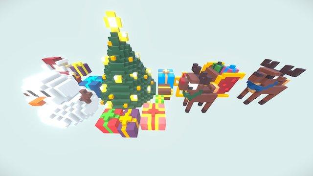 Cubik Studio Christmas 3D Model