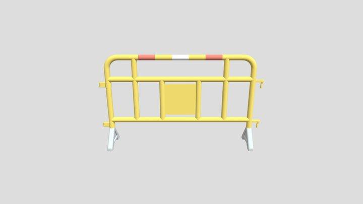 Hong Kong Yellow Road Block 3D Model