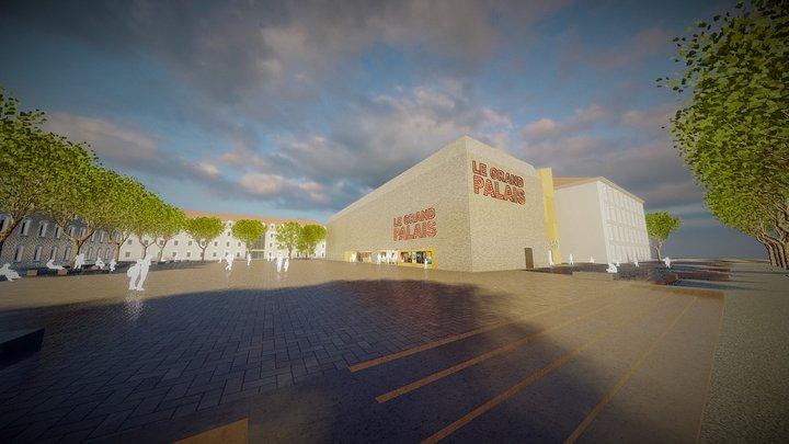 CAHORS | LE GRAND PALAIS 3D Model