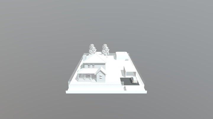 Dacha3 3D Model