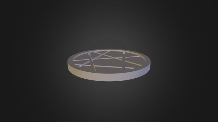 542bb4b317919Coaster_1 3D Model