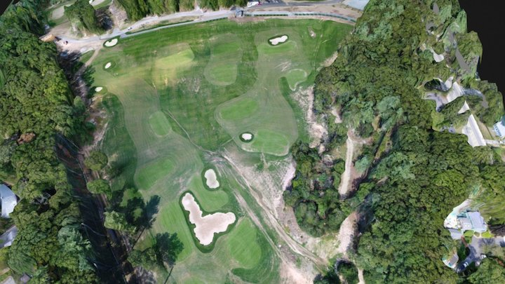 Golf Driving Range 3D Model
