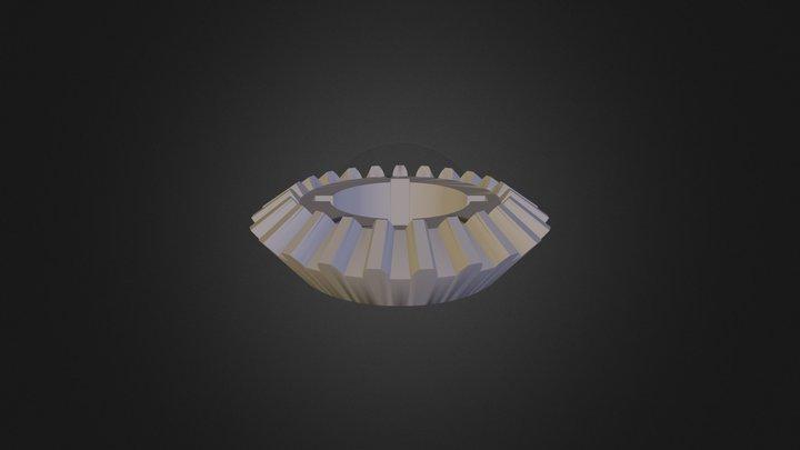 Bevel Gear 3D Model
