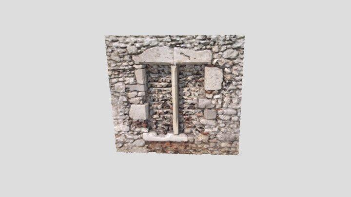 Fenêtre à meneau XIIIe-XIVe s. 3D Model