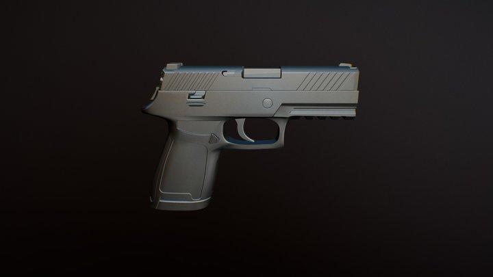 SIG Sauer 3D Model