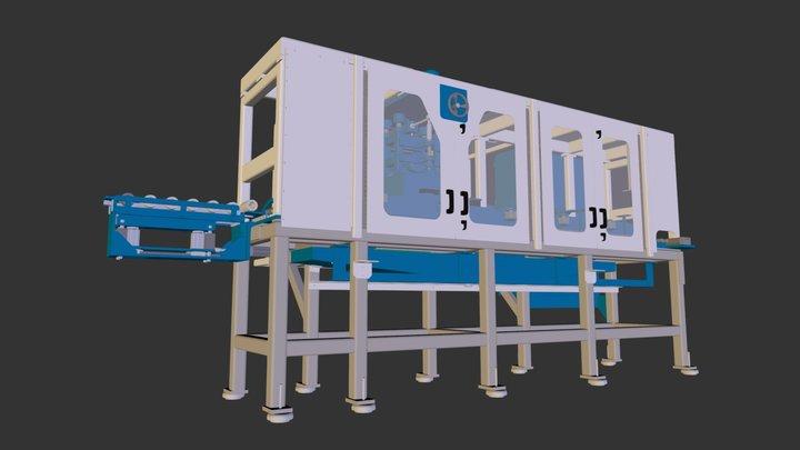 Test SW Machinery 3D Model