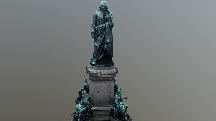 Carl von Linné Statue (Stockholm) 3D Model
