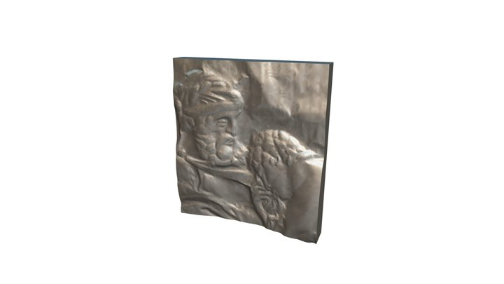 Regret 01 - Relief Sculpture Scan - Swatch 3D Model