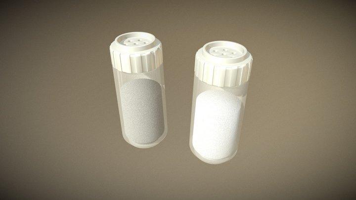 Salt & Pepper Shakers 3D Model
