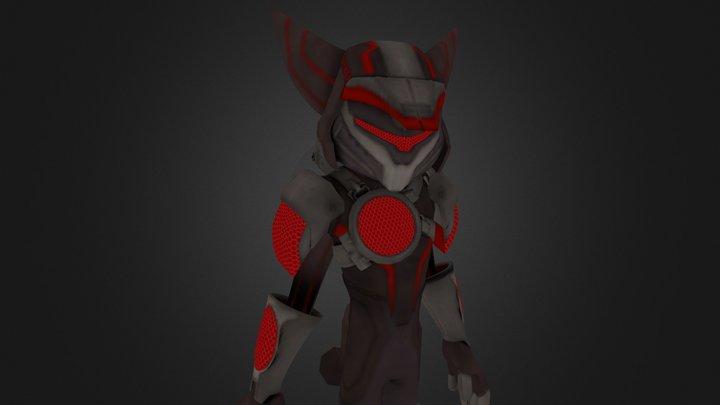 Hyperflux armour 3D Model
