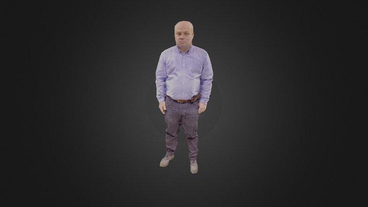 Modelo adulto 3D Model