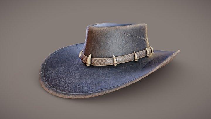 Australian Outback Hat 3D Model