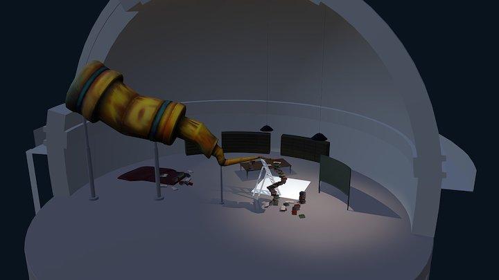 Observatory - WIP 3D Model