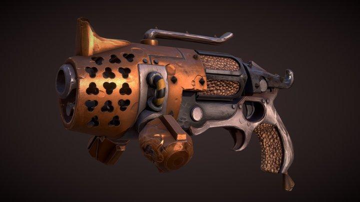 """""""The Lantern"""", Mortarion's Energy Pistol 3D Model"""