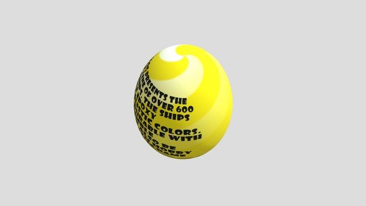 egghunt-yellow 3D Model