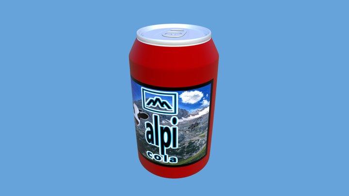 Alpen Drink 3D Model