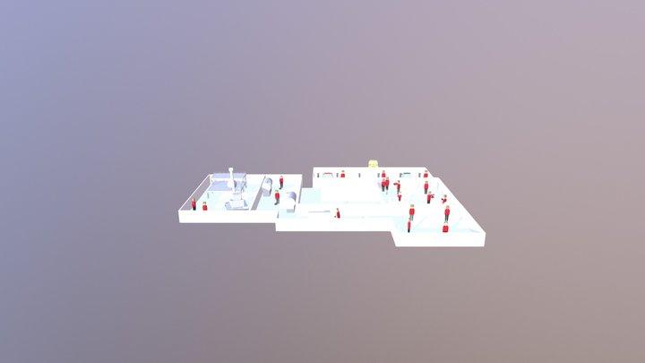 Map Final 3D Model