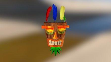 Aku Aku 3D Model