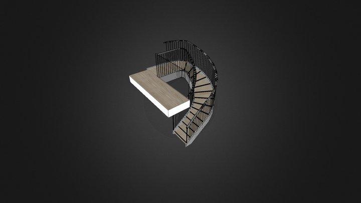 Botallick Stair 3D Model