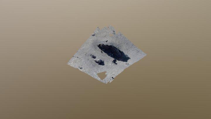 Aa lava block 3D Model