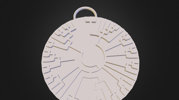 Phylogenetic_Tree_Pendant_3 3D Model
