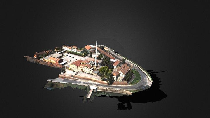 Piazza del Gasometro - Mantova 3D Model