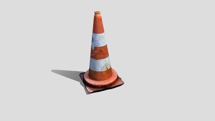 traffic cone 01 3D Model