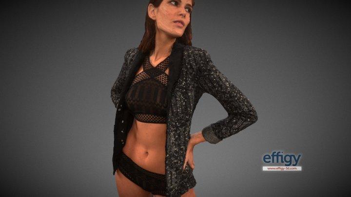 Monica veste Etam 3D Model