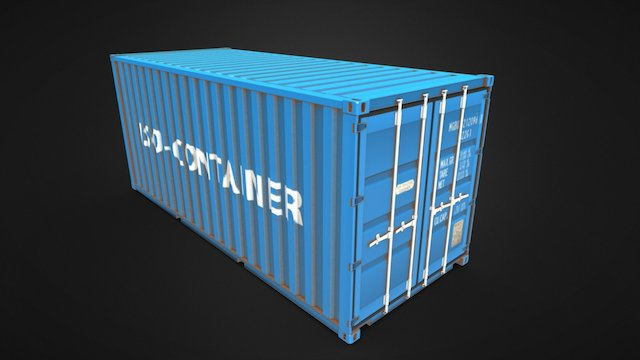 ISO - Container 3D Model
