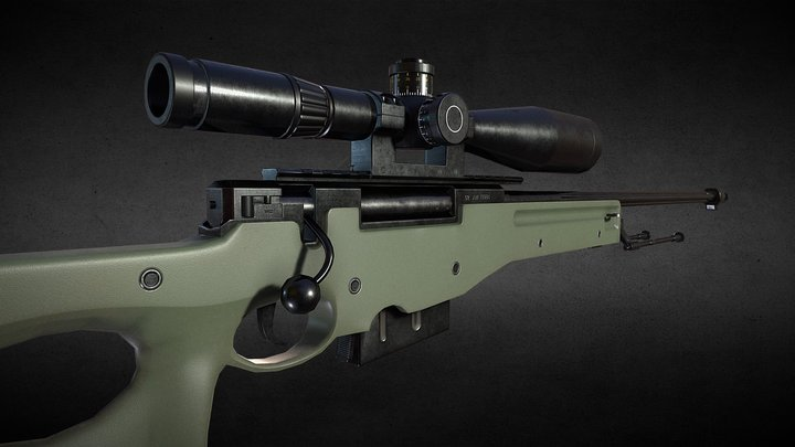 L96A1 3D Model