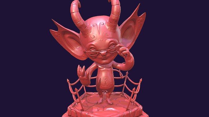 YARI Devil- GlenFX 3D Model