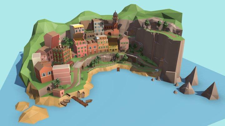 Murder in Tiny Italy 3D Model