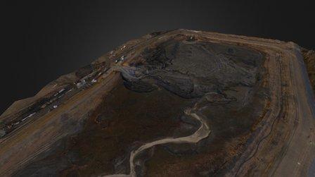 Dan River Steam Plant Ash Pond 3D Model
