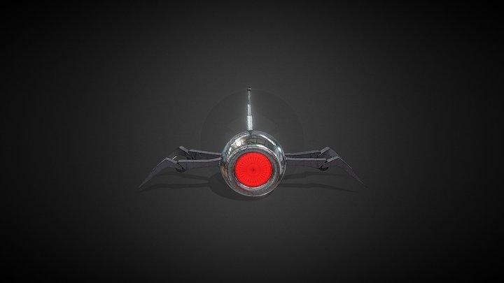 Spider-Droid 3D Model