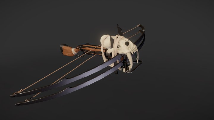 Feral one's crossbow 3D Model
