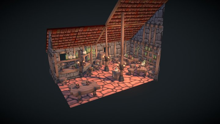 tavern thingy 3D Model