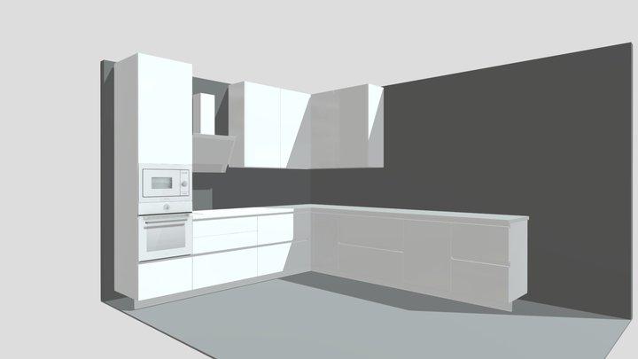 Pilka Tomas Kuchyne V2 3D Model