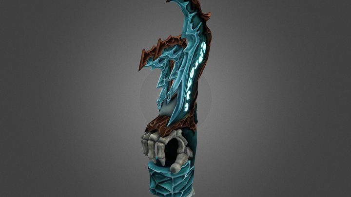 WoW: Ice Claws (legendary) 3D Model