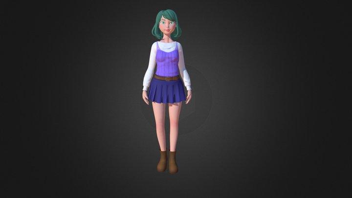 3d character 01 3D Model