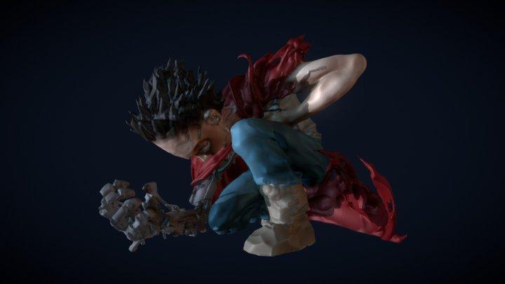 Akira: Tetsuo 3D Model