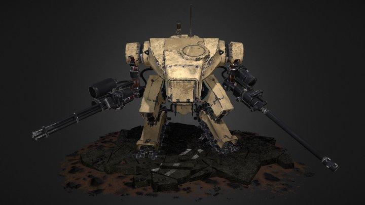 JP Mech 2015 3D Model