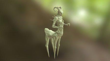 FaeDryad Sculpt 3D Model