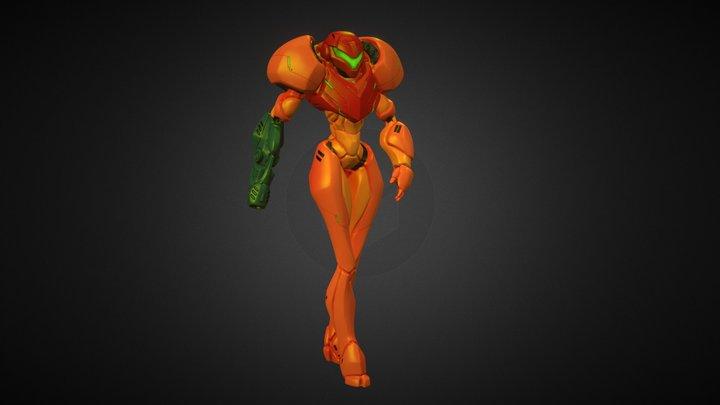 Samus Aran 3D Model