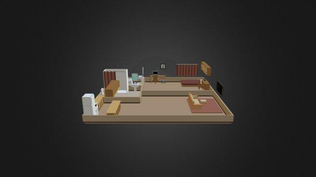 Apartment V.2 3D Model