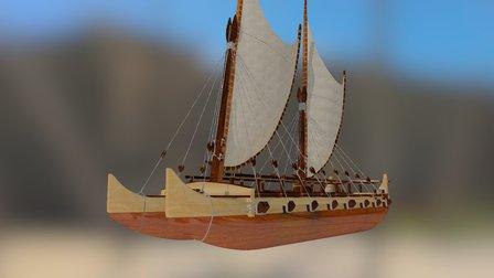 Hokulea 3D Model