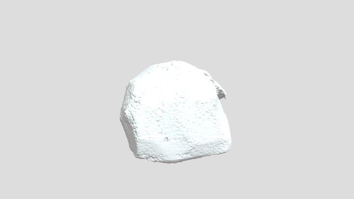 Rock Structure 3D Model